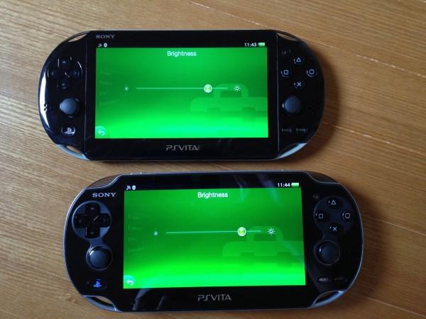 PlayStation Vita Slim vs PlayStation Vita