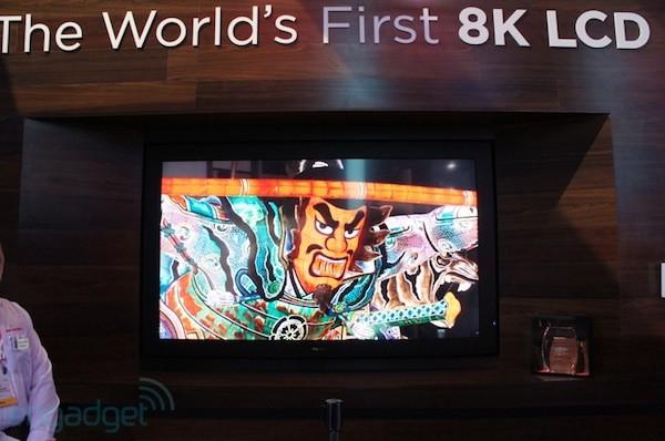 TV Sharp 8K 3D