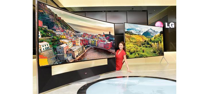 CES 2014: Televisor OLED LG de 105″ y resolución Ultra HD