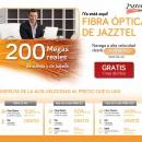 Jazztel ofrece Fibra Óptica a precios competitivos
