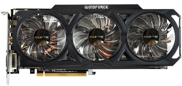 Gigabyte Radeon R9 280X OC Rev 2.0 (GV-R928XOC-3GD REV2 (1)