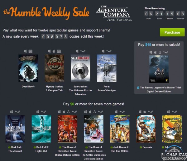 Humble Bundle The adventure company and friends