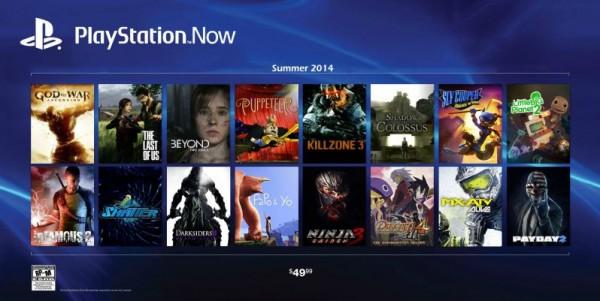 Juegos PlayStation Now de PS3 en PS4