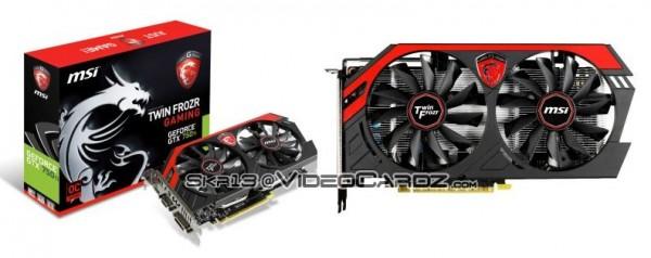 MSI GeForce GTX 750 Ti TwinFrozr Gaming