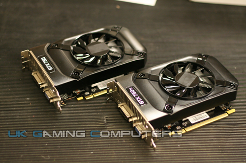 Nvidia GeForce GTX 750 Ti y Nvidia GeForce GTX 750