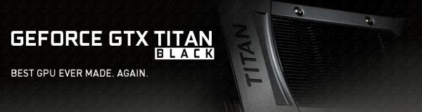 Nvidia GeForce GTX Titan Black Banners
