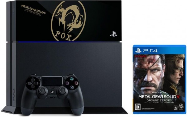 PlayStation 4 Metal Gear Solid 5 FOX