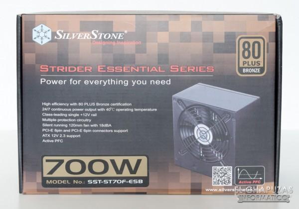SilverStone Strider Essential 01 600x420 0