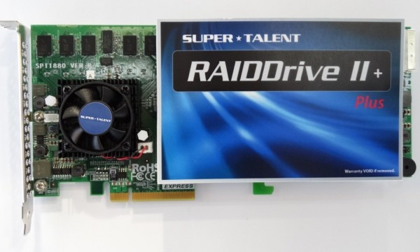 Super Talent RAIDDrive II Plus