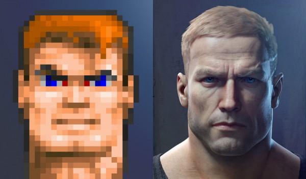 Wolfenstein The New Order vs Wolfenstein 3D