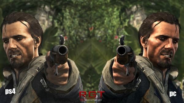 Assassin's Creed 4 PS4 vs PC