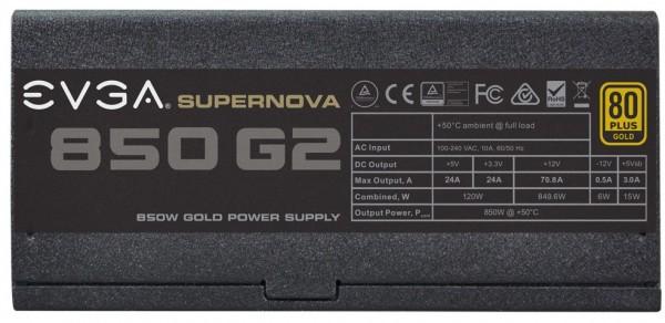 EVGA SuperNOVA 850 G2 (3)