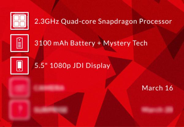 Especificaciones OnePlus One
