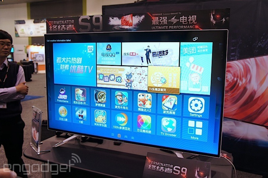 Lenovo Terminator S9: Smart TV de 50″ 4K con Nvidia Tegra K1