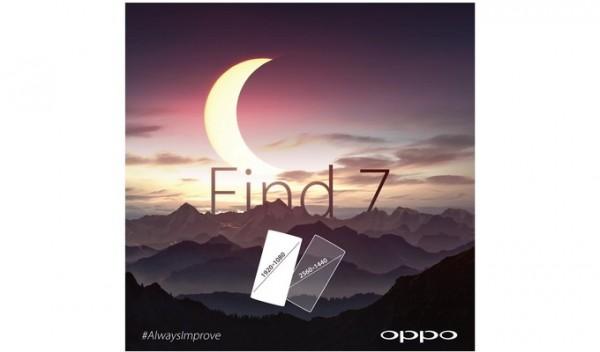 Oppo Find 7 Full HD - Quad HD