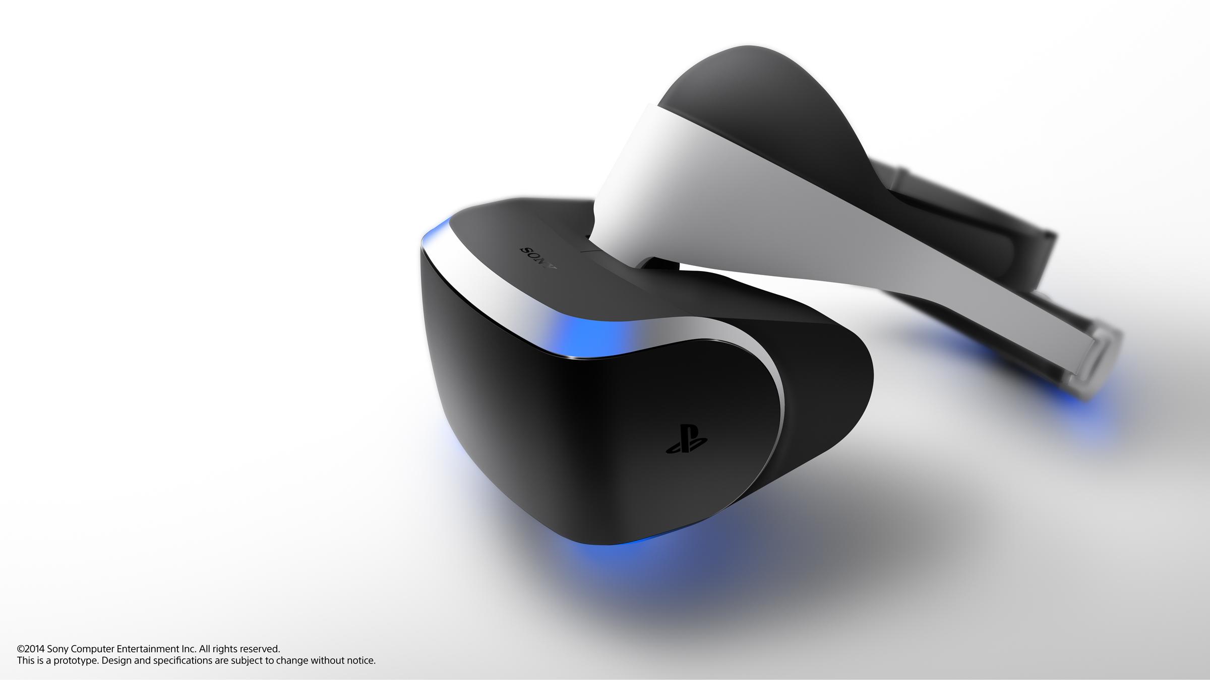 Sony Project Morpheus, el rival de Oculus Rift