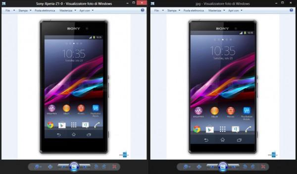 Sony Xperia Z1 de 5.5 pulgadas vs Sony Xperia Z1