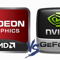 amd vs nvidia logo