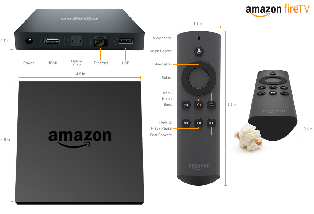 Amazon Fire TV: Streamer y consola en un mismo dispositivo