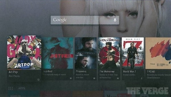 Android TV - Interfaz (2)