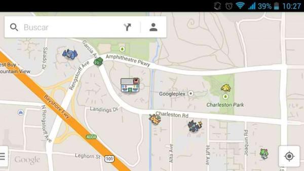 Google Maps Pokémon