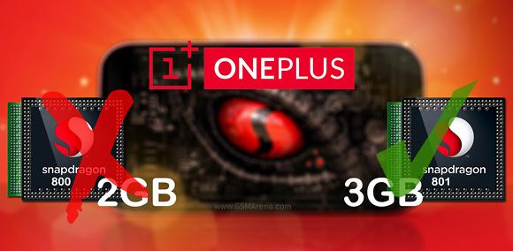 OnePlus One 3 GB RAM