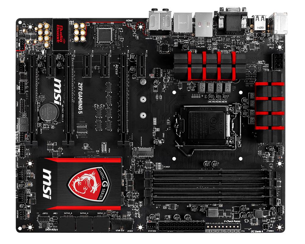 MSI Z97 Gaming 3, Gaming 5, Gaming 7, Z97-G43, Z97-G45 y Z97-GD65 - El ...