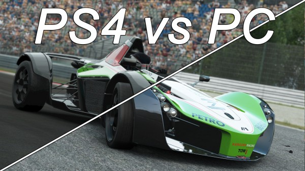 Project CARS PC vs PlayStation 4 (1)