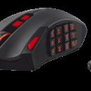 Trust GXT 166 MMO: Ratón gaming para juegos MMORPG