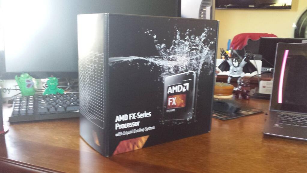 AMD FX-Series - Embalaje de modelo desconocido