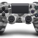 Sony lanza su DualShock 4 en color blanco, azul y camuflaje
