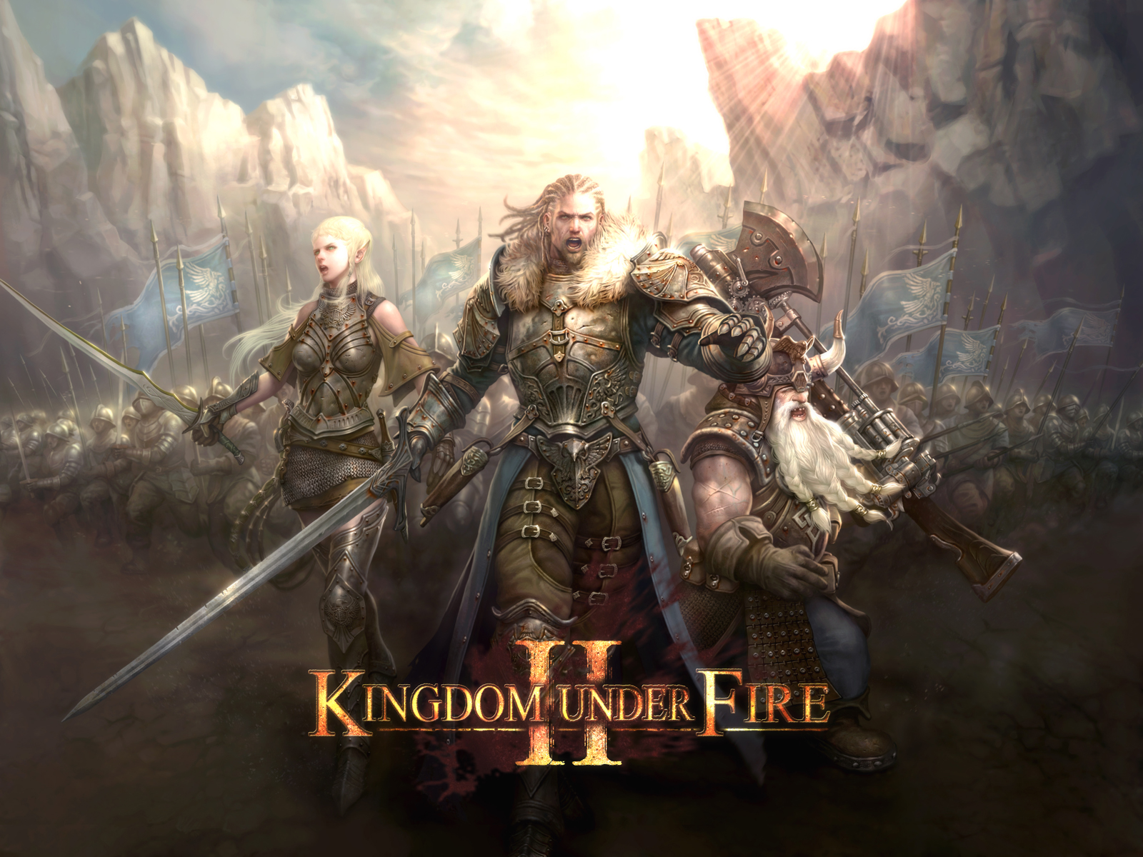 11 minutos del MMO Kingdom Under Fire 2