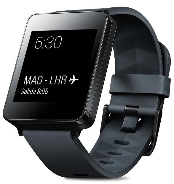 El LG G Watch se actualiza para evitar daños a tu muñeca