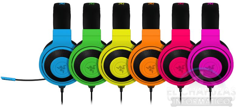 Razer Anuncia Sus Auriculares Kraken Pro Neon El