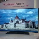 El televisor con pantalla OLED curva de LG costará 25.000 euros