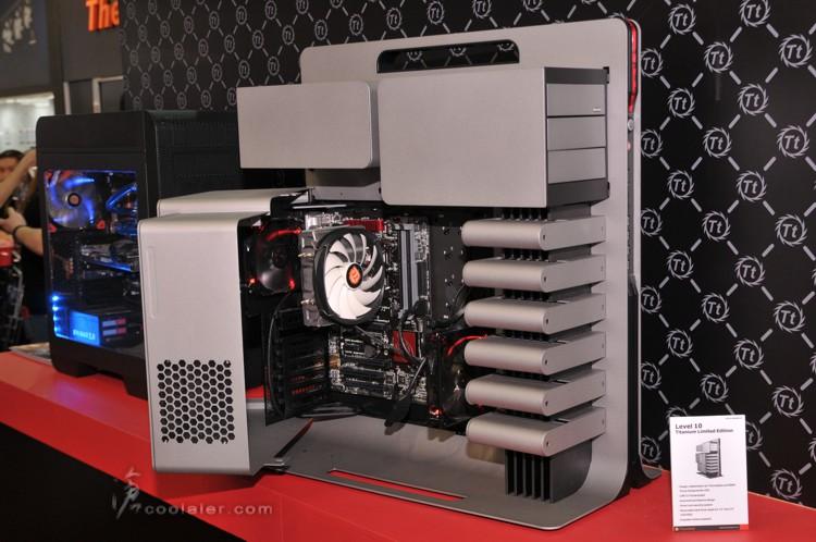 Computex Thermaltake Level 10 Titanium Limited Edition
