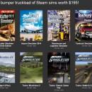 Bundle Stars: 12 simuladores para tu biblio de Steam por 3.49€