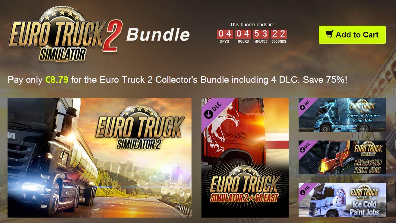 Bundle Stars Euro Truck Simulator 2