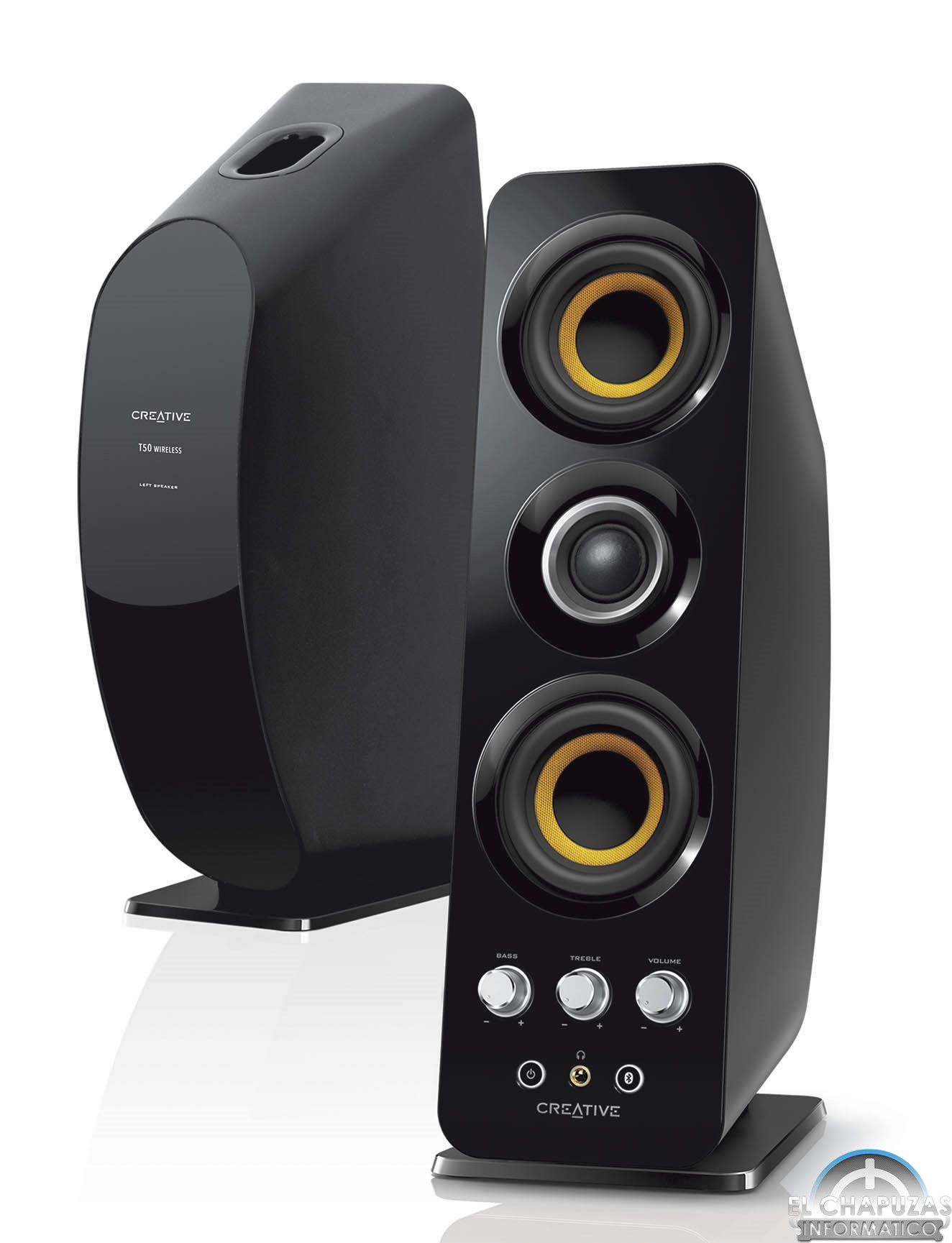 Creative T50 Wireless Altavoces Inal 225 Mbricos 2 0