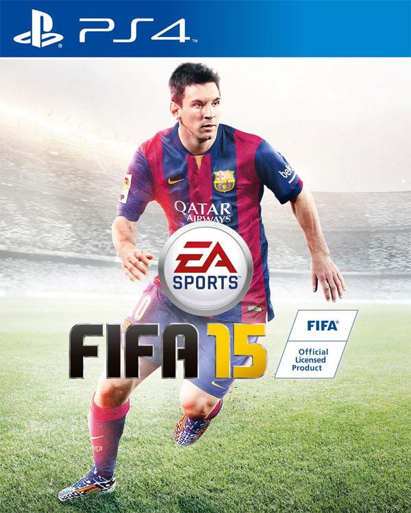 FIFA 15 - Portada PS4