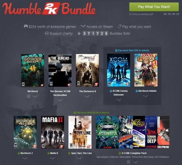 Humble Bundle - 2K Games