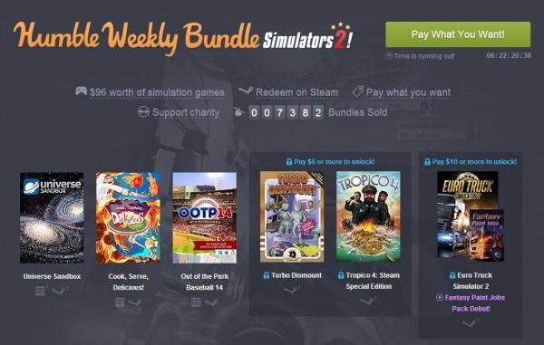 Humble Bundle Simulators 2