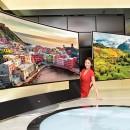 LG 105UC9: Televisor curvo de 105″ con resolución 5K a 21:9