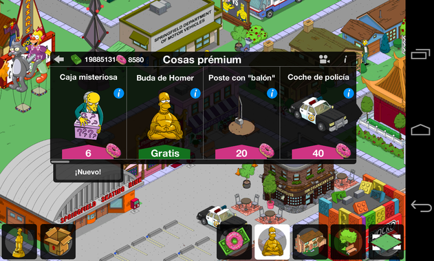 Los Simpsons Android