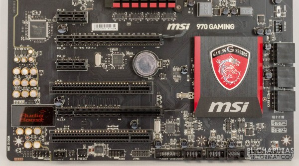 MSI 970 Gaming motherboard