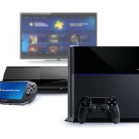 PlayStation 4 + PlayStation 3 + PS Vita