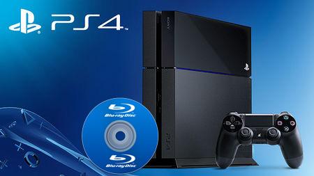 PlayStation 4 Blu-ray
