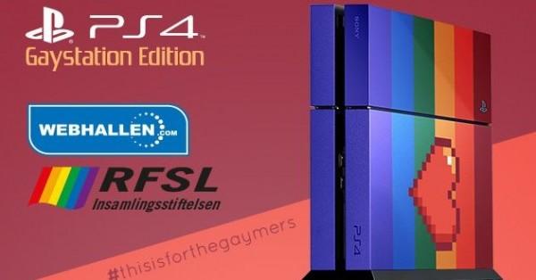 PlayStation 4 Gaystation Edition