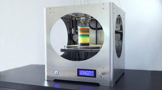3d4c La Primera Impresora 3d A Color Del Mundo