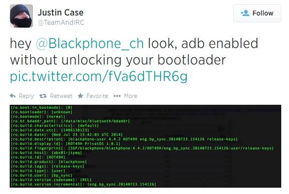 Blackphone rooteado